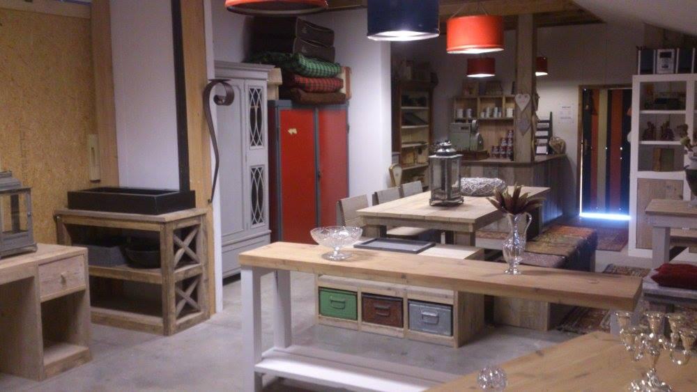 Computerkast Van Steigerhout.Welkom De Weerd Design